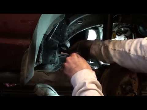 Saturn S-Series Inner & Outer Tie rod Replacement