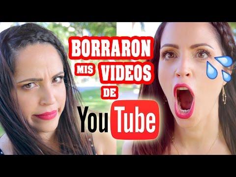 Borraron mis Videos de Youtube y mi Esposo me Traiciona :(