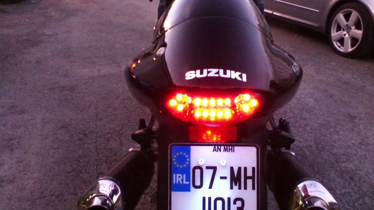 Hayabusa rear stop and indicators upgrade