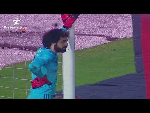 """الهدف الخامس لـ الأهلي امام المقاولون العرب """" وليد ازارو """" الجولة الـ 23 الدوري المصري"""