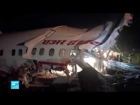 قتلى وجرحى في حادثة انشطار طائرة أثناء هبوطها في جنوب الهند  - نشر قبل 9 دقيقة