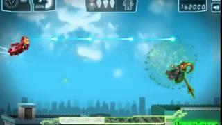 Бесплатные игры онлайн  Игра Железный человек из Лего, игра для мальчиков