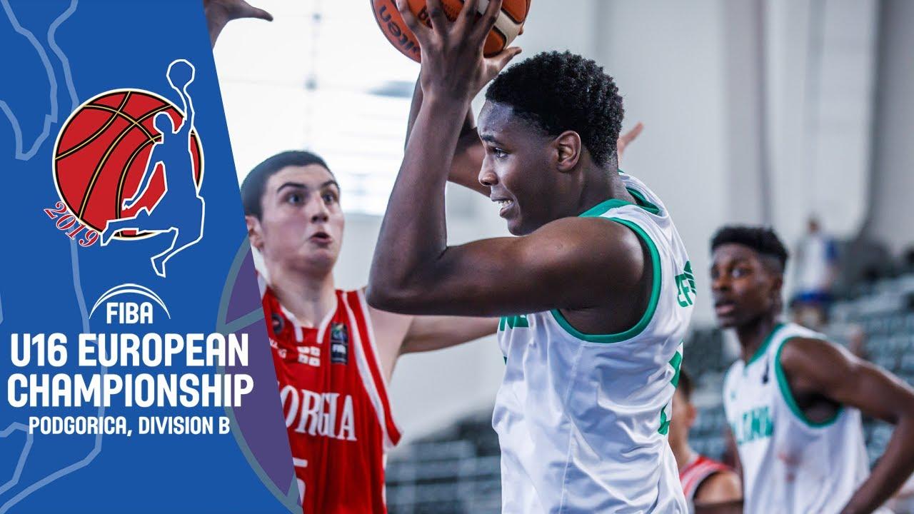 Ireland v Georgia - Full Game - FIBA U16 European Championship Division B 2019