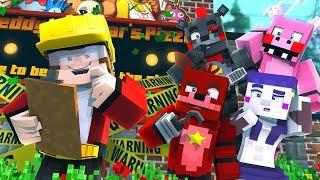 Minecraft FNAF 6 Pizzeria Simulator - FIXING THE PIZZERIA! (Minecraft Roleplay)