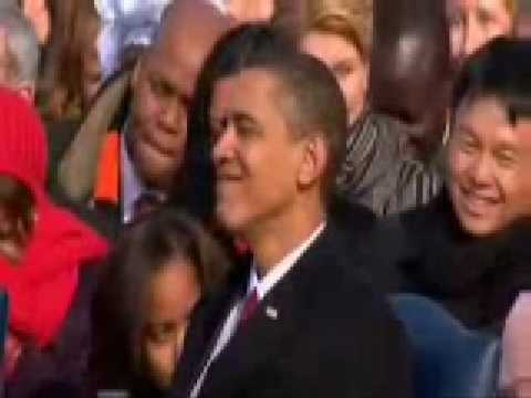 Reverend Joseph Lowery Goes Ryhme Crazy - Obama's Inauguration Funny