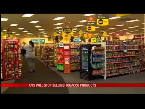 CVS Will Stop Selling Tobacco Products