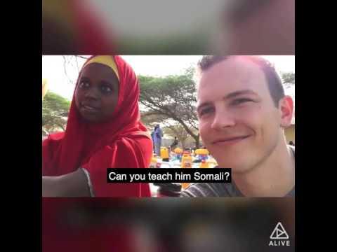 See Jerome Jarre LOVE ARMY SOMALIA video