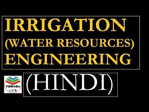 Water Req. of Crops Irrigation Engineering in HINDI|Water Resources | GATE ESE/IES SSC JE
