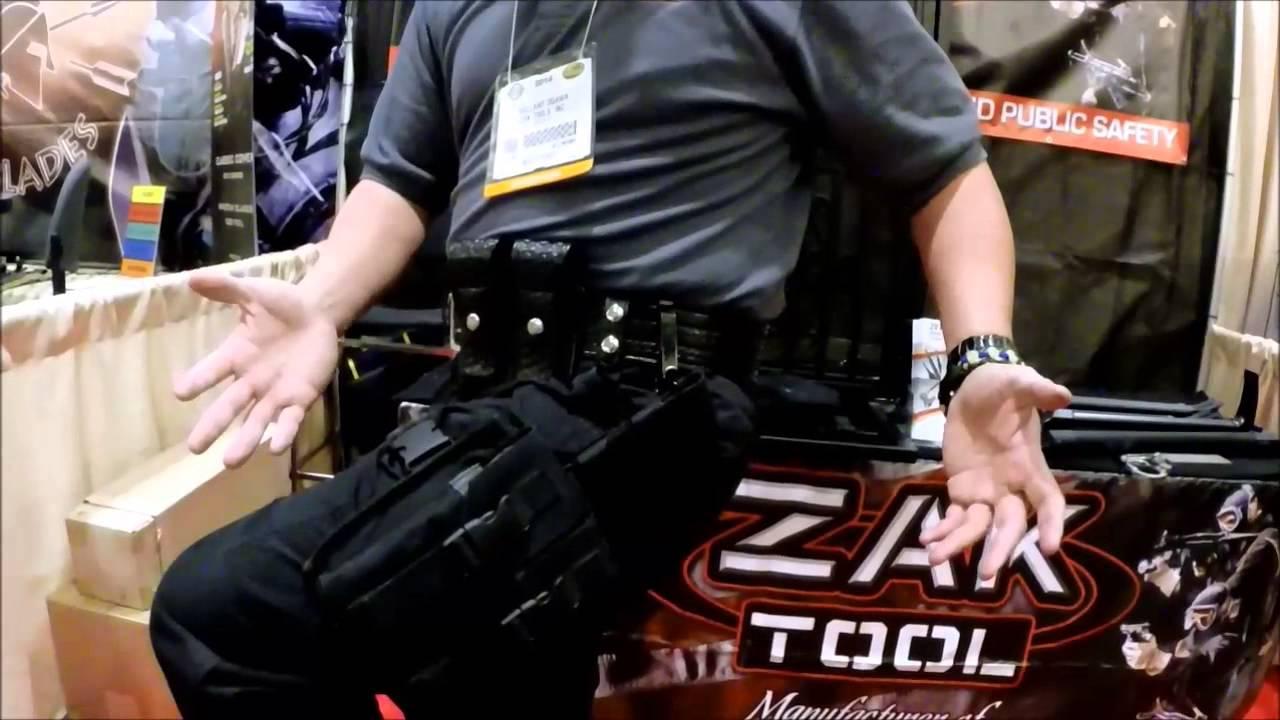 Zak Tool S 212 Tactical Belt Clip System At The 2014 Shot