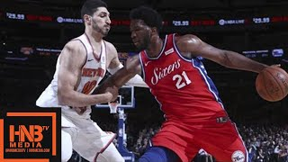 Philadelphia Sixers vs New York Knicks Full Game Highlights / Week 11 / Dec 25