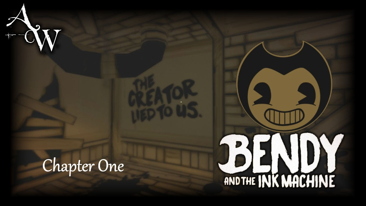 let s play bendy and the ink machine