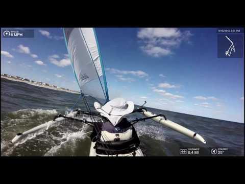 Atlantic Ocean Hobie TI Sail