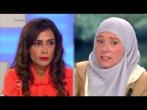 Burkini debate with Darya Safai on RTL (Belgian Television) (French)