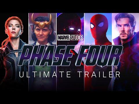 MCU Phase 4 (2021-2024)   ULTIMATE TRAILER   Marvel Studios & Disney+