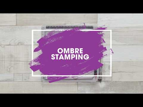 Stamping Technique: How to Achieve Ombre Stamping Tutorial thumbnail