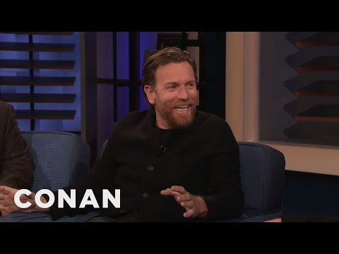 """Doctor Sleep"" Star Ewan McGregor Once Lived In A Haunted House - CONAN on TBS"