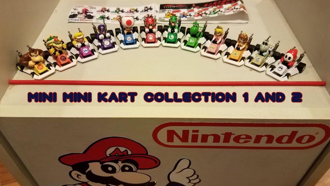 Hyper Rare Mario Kart Ds Mini Mini Kart Collection Sets By Kyodo Co Ltd