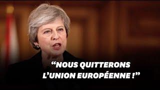 Brexit: Theresa May contre la tenue d'un second référendum