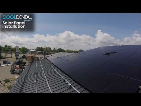 Solar Panel Installation at Cool Dental