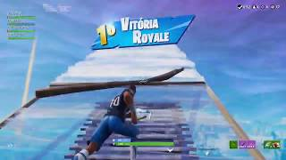 A JOGADA MAIS LINDA DE HOVERBOARD ! Fortnite Battle Royale