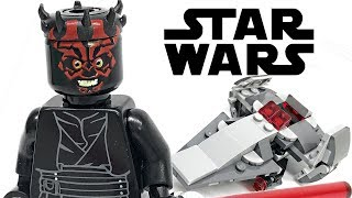 LEGO Star Wars Sith Infiltrator Microfighter review! 2019 set 75224!