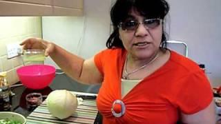 Stuffed Cabbage Recipe Assyrian Iraqi Vegetarian Dolma - Quorn Part 1/3