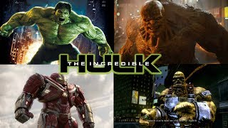 THE INCREDIBLE HULK - ALL BOSS BATTLES (Xbox 360)