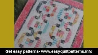 basic hand quilting scrap quilt patterns online
