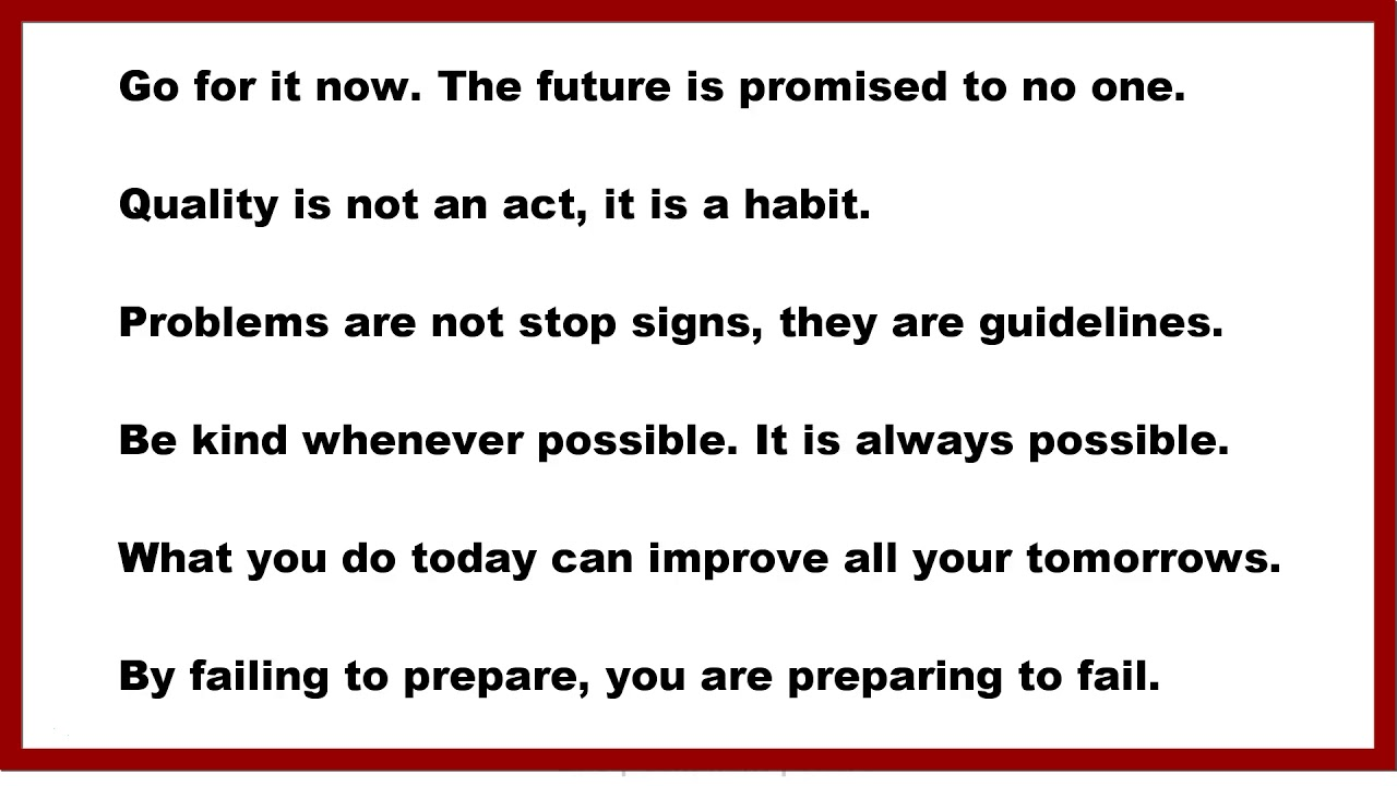 Motivational Quotes Go For It Now The Future Is Promised To No One