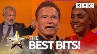 Erotic art and baking disasters with Nadiya, Arnold and Blondie | The Graham Norton Show - BBC