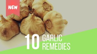 10 INCREDIBLE Garlic Remedies For Health (Hair Loss, Cancer, Asthma, & More!)