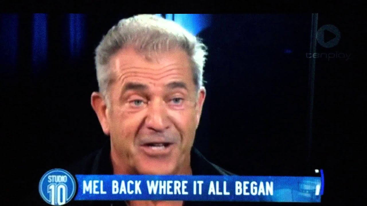 Final, Mel gibson interview asshole utube reply, attribute