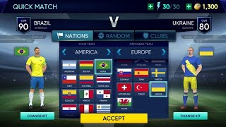 Brazil Vs Ukraine 6 1 Soccer Cup 2020 Android Mobile Gameplay
