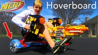 HOVERBOARD NERF GUN!! (TRIPLE THREAT!)