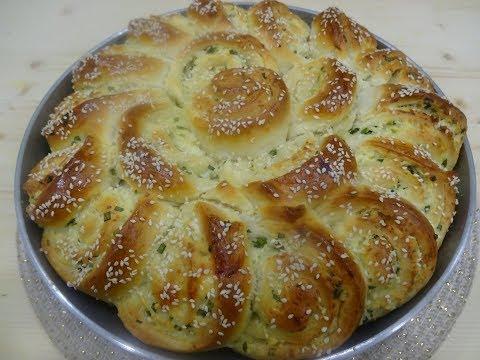 Пирог с адыгейским сыром в мультиварке
