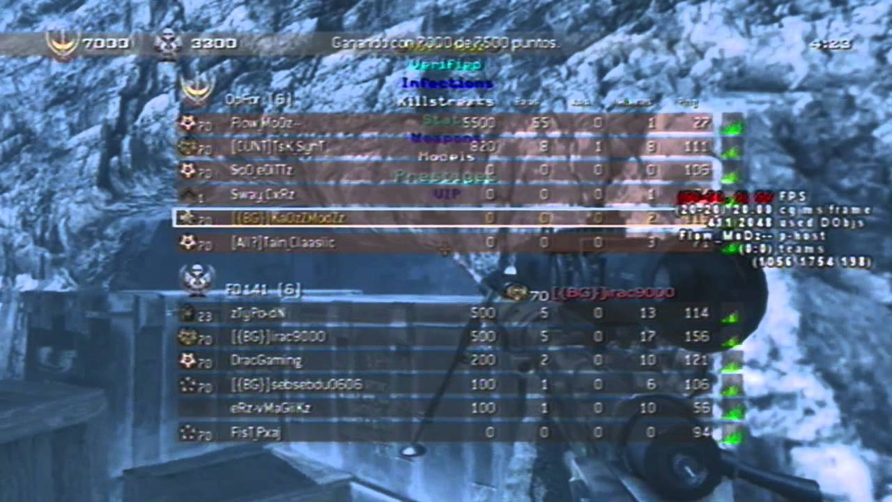 free uav and aimbot hack mw2 ps3 download