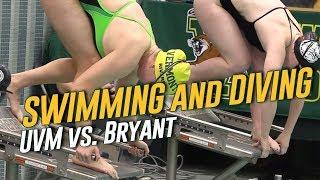 Swimming & Diving: Vermont vs. Bryant (11/16/19)