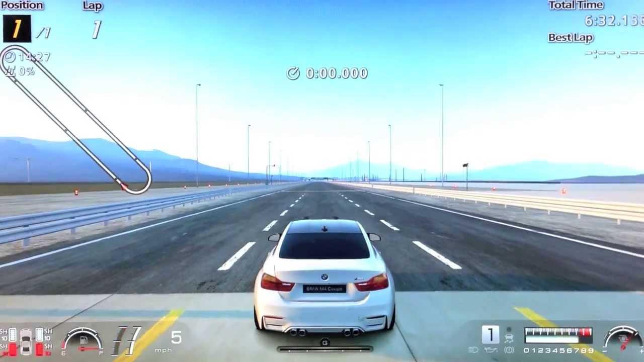 GT6 - 2015 BMW M4 Coupé Top Speed & Acceleration Test ...