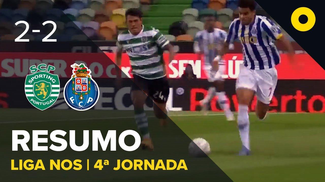 Спортинг Лиссабон  2-2  Порту видео