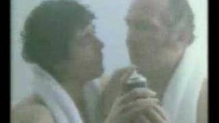 Brut TV ad with Henry Cooper and Kevin Keegan