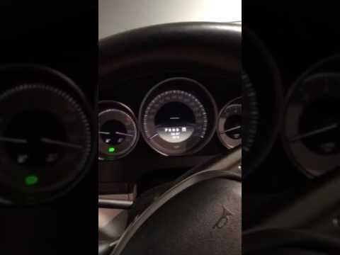 Mercedes benz c250 start up problem