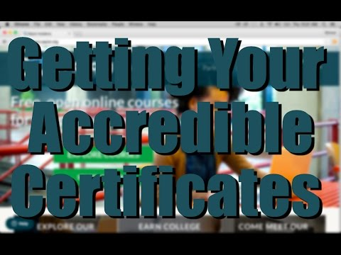 Getting Your Accredible Certificates
