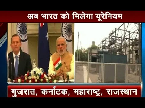 PM Narendra Modi signs Nuclear Agreement with Australia for Uranium Trade Part 1