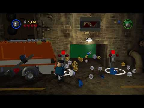 LEGO Batman: The Videogame #31 Power Brick Detector, Minikit Detector & Score x2 (HD 1080p 60fps)