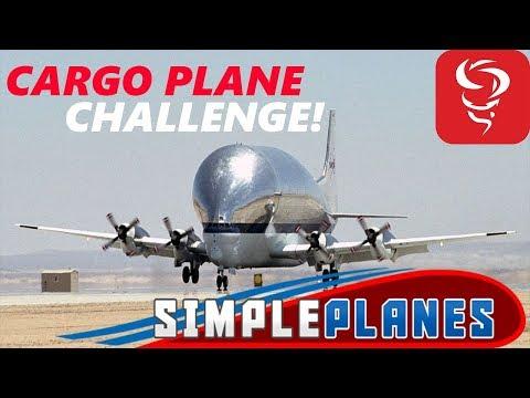 CARGO PLANE CHALLENGE! - Simple Planes - Live