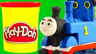 Thomas Toy Train Stop Motion Animation with pretend play for children