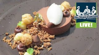 Michelin star chef Graham Hornigold creates a chocolate, sesame and lime dish