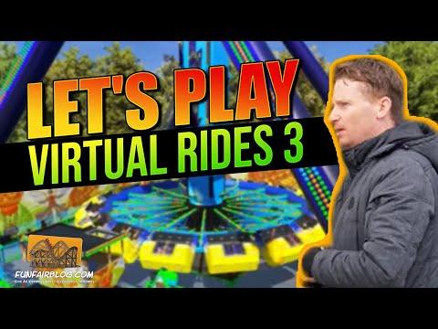 Virtual Rides 3 Let's Play   Funfair Blog #108 [HD]