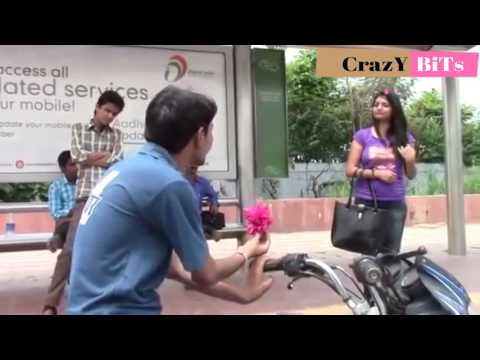 Funny Propose to Beautiful Girl - boy  Indian funny Video Whatsapp status video