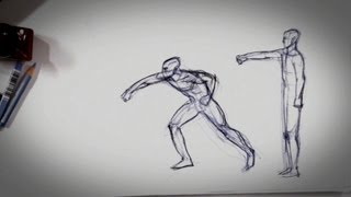 How to Show Movement in a Drawing | Drawing Tips